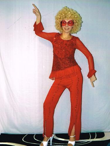 Disco Mania Rouge