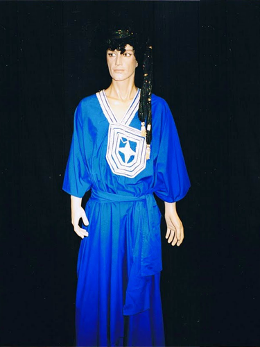 Djellaba Bleue