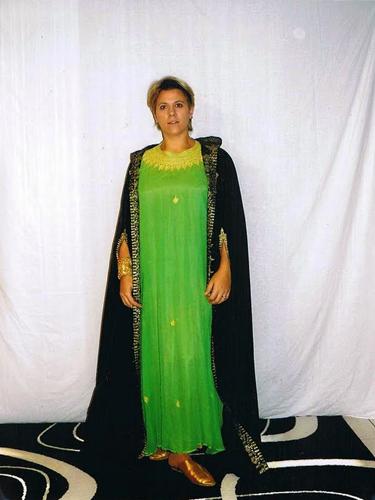 Djellaba Emeraude