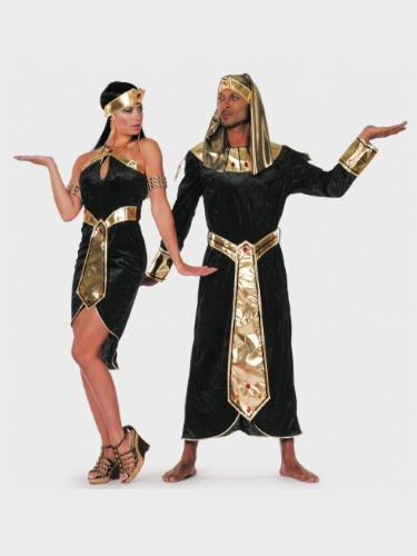 Egyptiens noir et doré