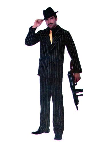 Gangster Luxe Rayé Noir