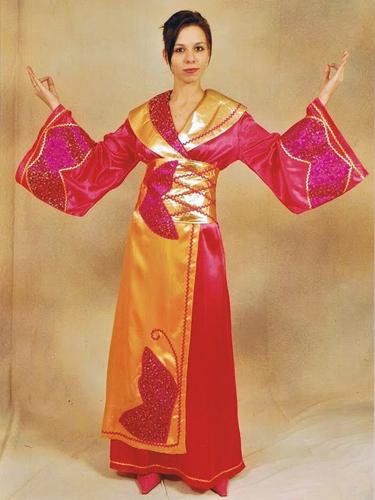 Geisha Satin Rose