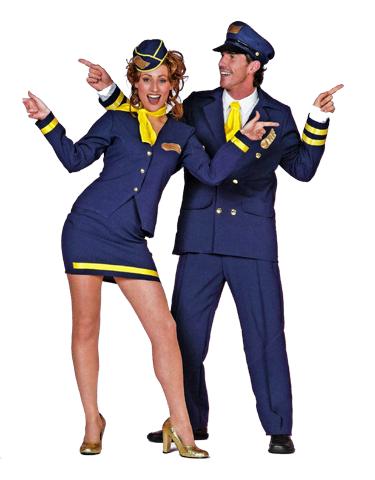 Hotesse de l'air et Pilote