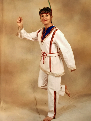 Indien Blanc «Chenoa»