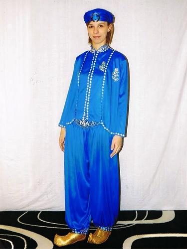 Oriental Bleu