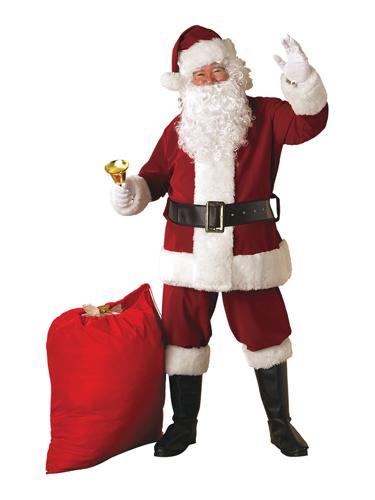 Père Noël Luxe Velours