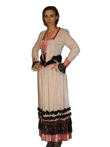 Robe d'époque Raffinée
