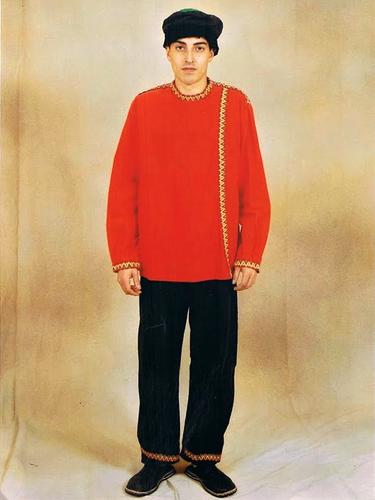 Russe Rouge Simple